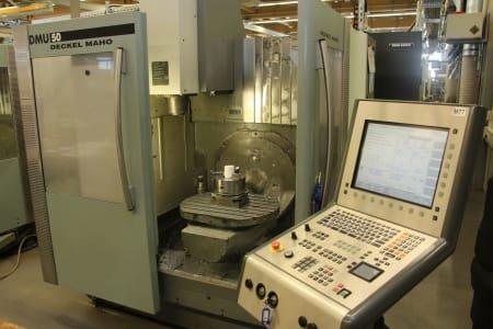 Centro de mecanizado de 5 ejes DMG DMU 50
