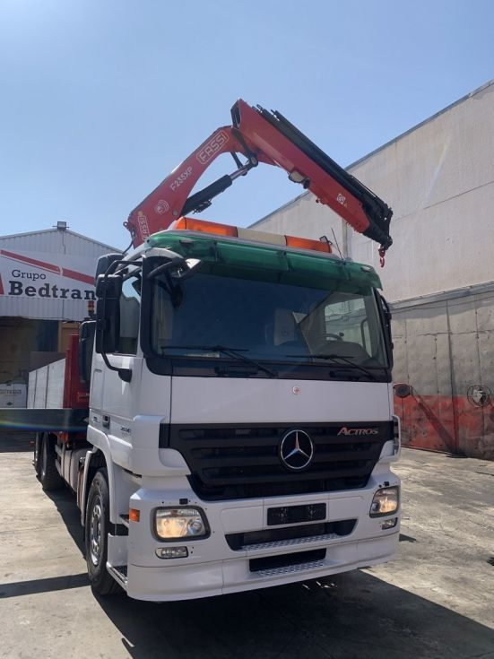 Camion grua Mercedes Actros 2536 L grua Fassi G235 XP 26