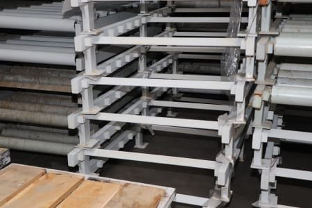 Lot transport roller conveyors approx. 410 running metres