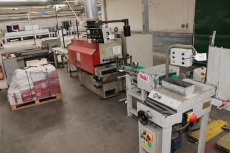 COSTA / TOS PWR 301 Multi Blade Saw and Laying Station for Parquet Middle Layer