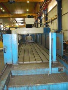 Fresadora puente de 5 ejes CNC NORMA 5000