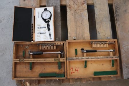 MITUTOYO Lot of Internal Measuring Devices