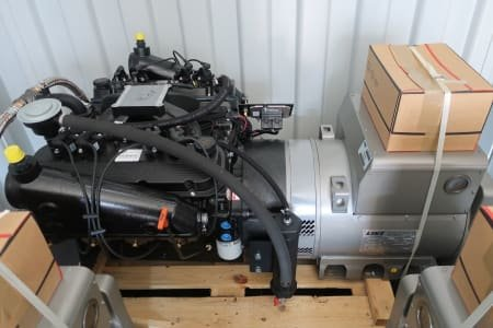 2 x ORIGIN Gas engine 9,1L with LINZ generator PRO 22S B/4