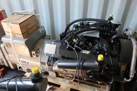 ORIGIN Gas engine 9,1L with LINZ generator PRO 22S B/4