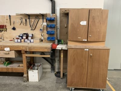 Workbench and Tool Cabinet