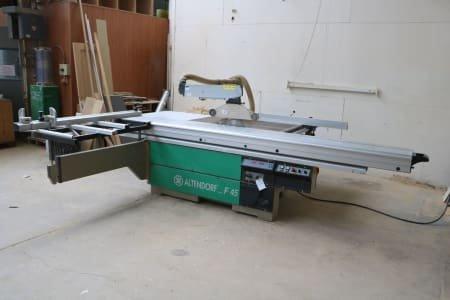 ALTENDORFF F 45 Table Sliding Table Saw