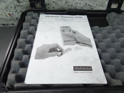 DEFELSKO UTG Ultrasonic Thickness Gage