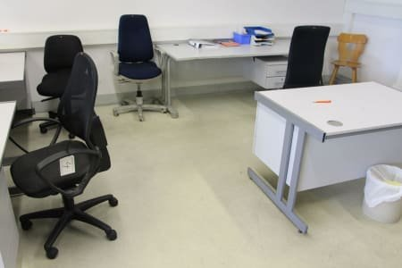 Lot of Office Furnitures