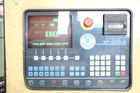 Punzonadora EDEL STANZOMAT 410