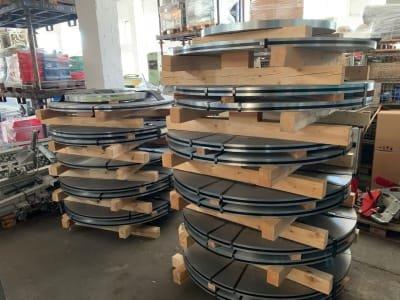 DP600+ZA130B-C Lot (19x) Coil Flat Steel Strip Steel
