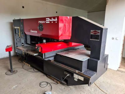 AMADA PEGA 204040 CNC Turret Punch Press