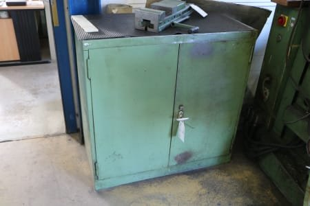 Material Cabinet with Contents
