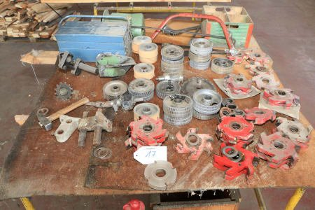 Lot of Accessories for Moulder