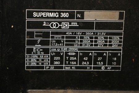 TELWIN SUPERMIG 360 Welding machine