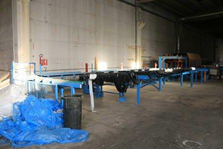 HUNDEGGER Machining center for sawmill