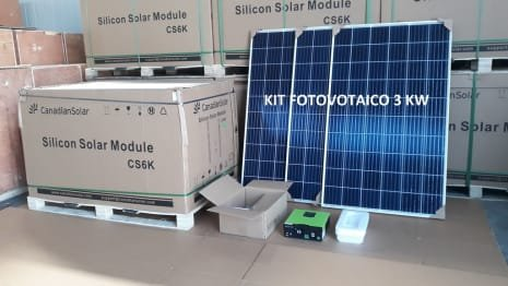 Photovoltaic System 3 KW A++ class