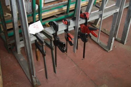 Lot of clamps (14)