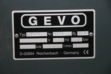 GEVO MF-3 Storage for pneumatic screwdriver