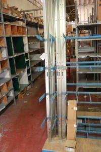Lot of hardware-carrying racks (14)