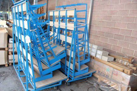Lot of trolley and racks (7)