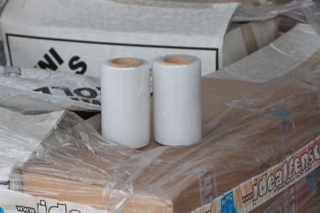 Lot of Wrapping Film