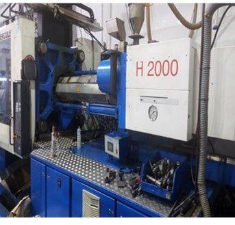 Maquina de inyeccion 320 tn