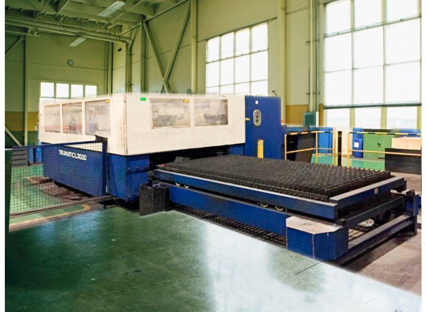 Maquina corte por láser CO2 - 4kw