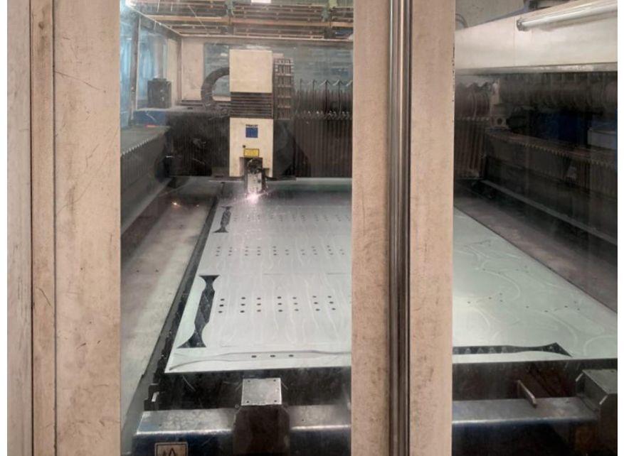 Máquina de corte por láser CO2 - 5kw con liftmaster