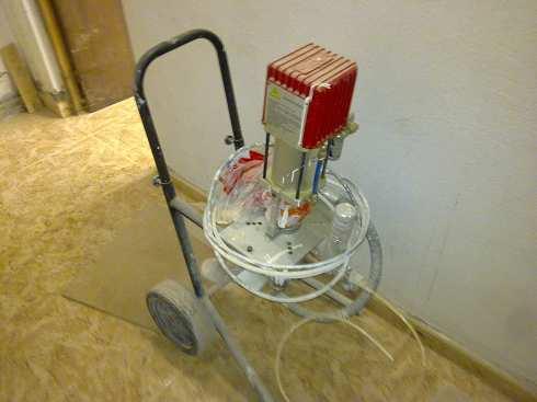 Cabina de barnizado presurizado