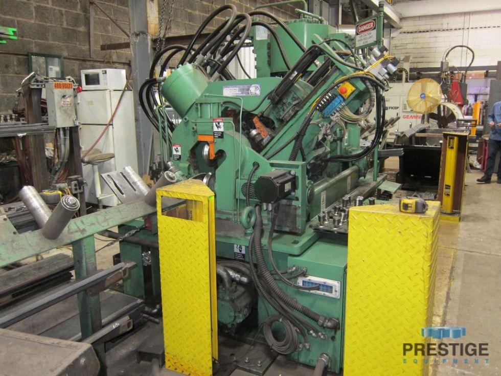 CNC Anglemaster Angle Punch & Shear Line