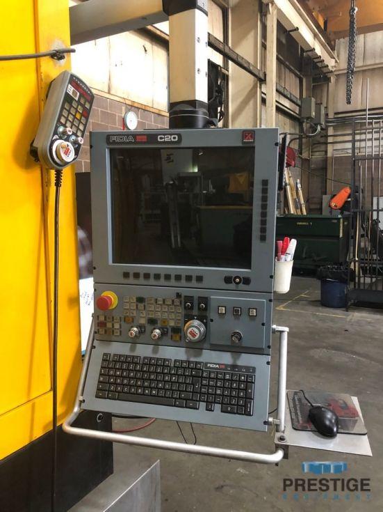 Centro de mecanizado estilo pórtico CNC