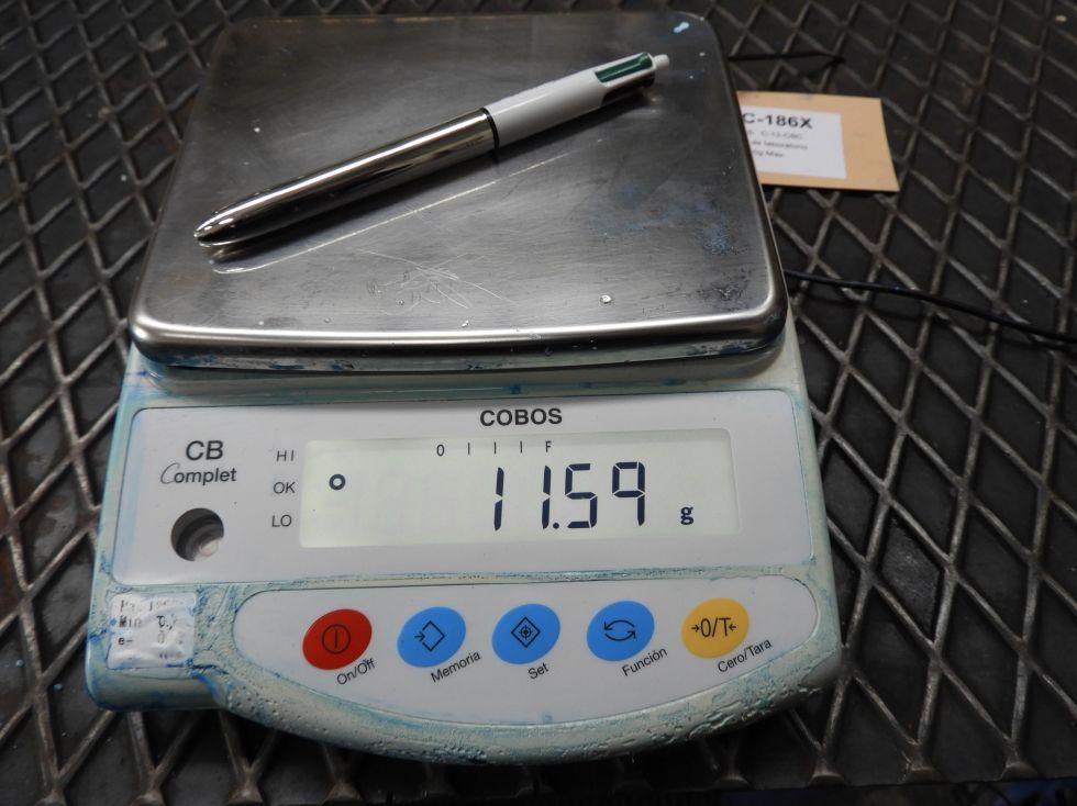 Báscula de laboratorio