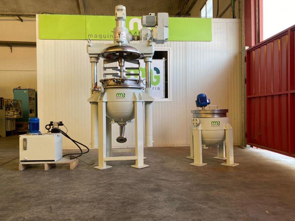 Agitador reactor LLEAL modelo triagi-125