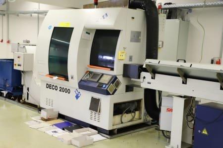 TORNOS-BECHLER DECO 2000 CNC Lathe
