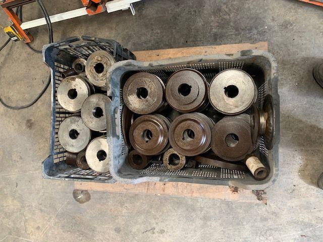 Curvadora de perfiles tubos Hyd