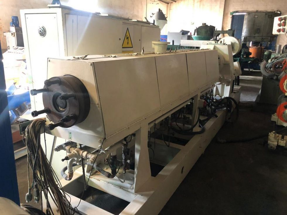 GT-3191 Extrusora para fabricación Laminas