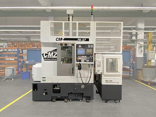 Torno CNC - TB-67+GL6 | CMZ