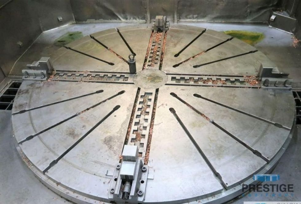 Mandrinadora vertical CNC con fresado