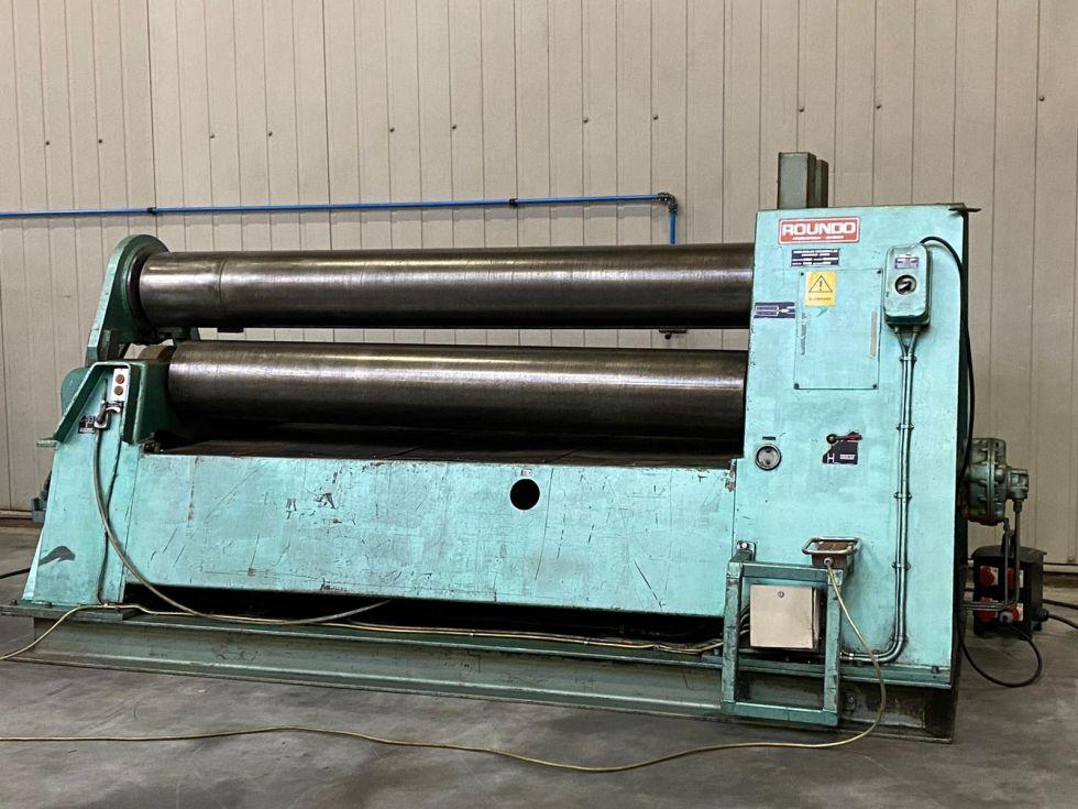 Plate rolling machine - ROUNDO PS 360 3 roll platebender 2500 x 30 mm 6282 =Mach4metal