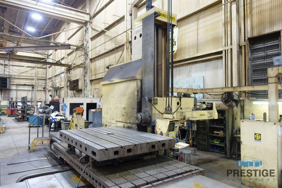 Mandrinadora horizontal tipo mesa CNC