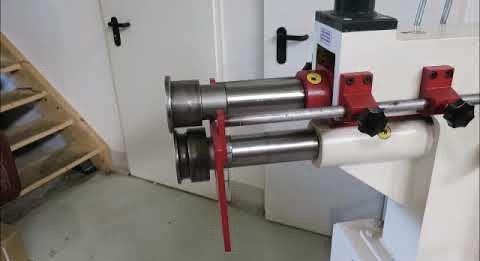 Bordonadora de chapa 2,5 mm