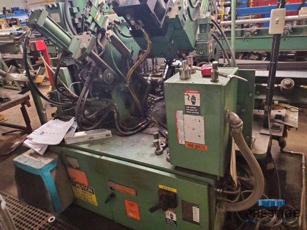 Línea de punzonado y cizallado CNC Anglemaster