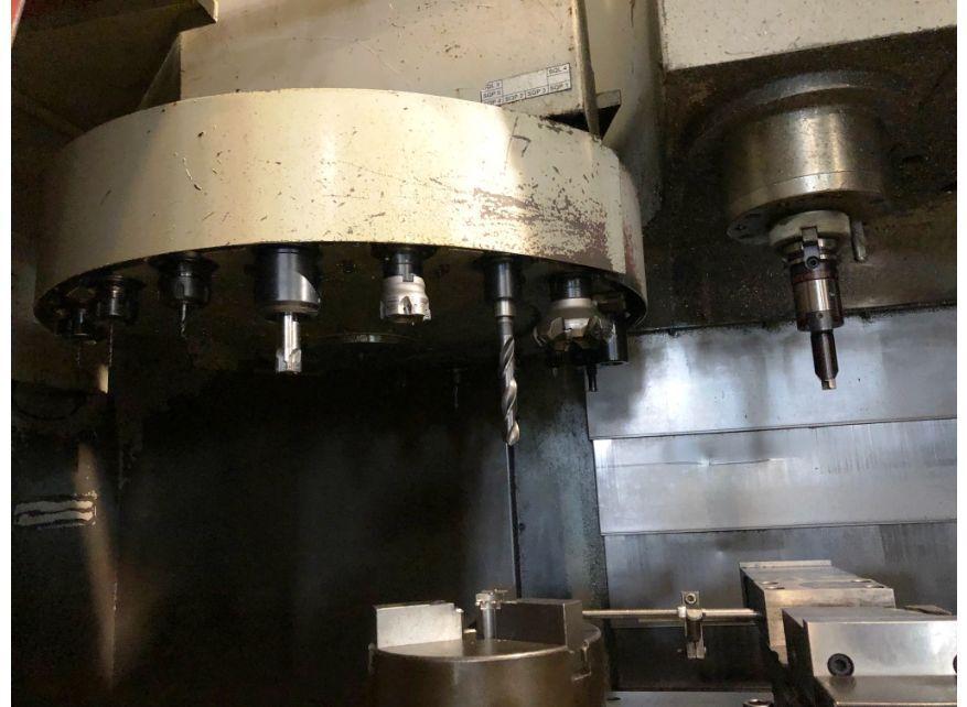 Centro mecanizado vertical YANG EAGLE