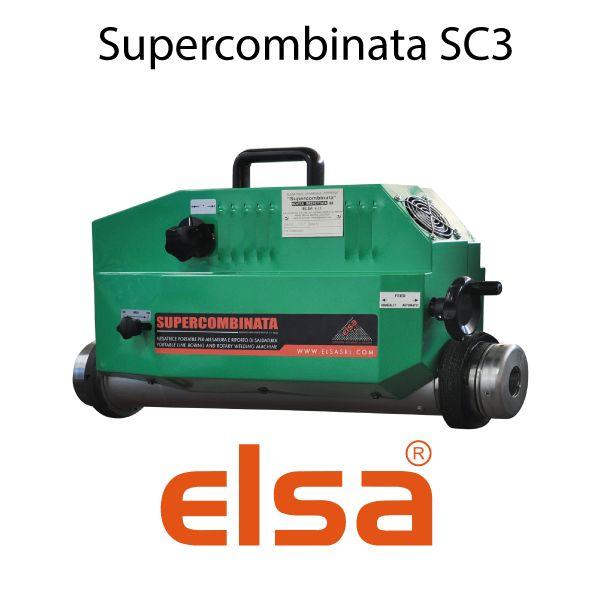 Mandrinadora portátil multifunción - Supercombinata SC3