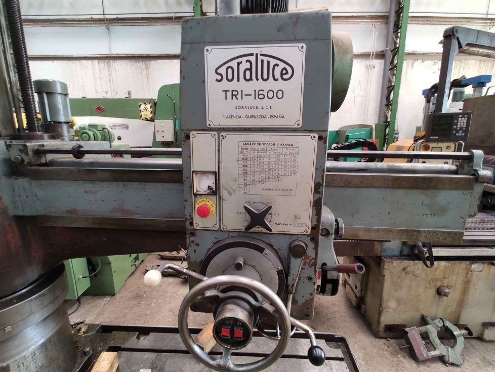Taladro radial Soraluce TR1-1600