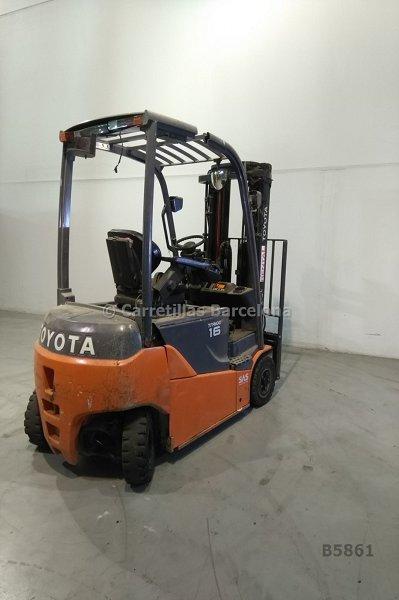 Contrapesada eléctrica (4 ruedas) Toyota 8FBMT16