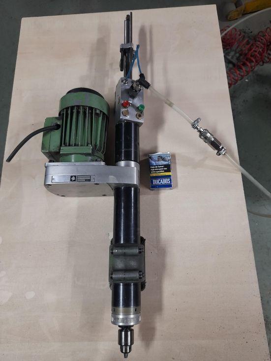 taladro electrico avance neumatico