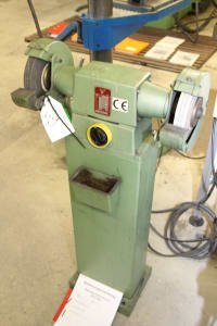 REMA DS 07/200 Double-Wheeled Bench Grinder
