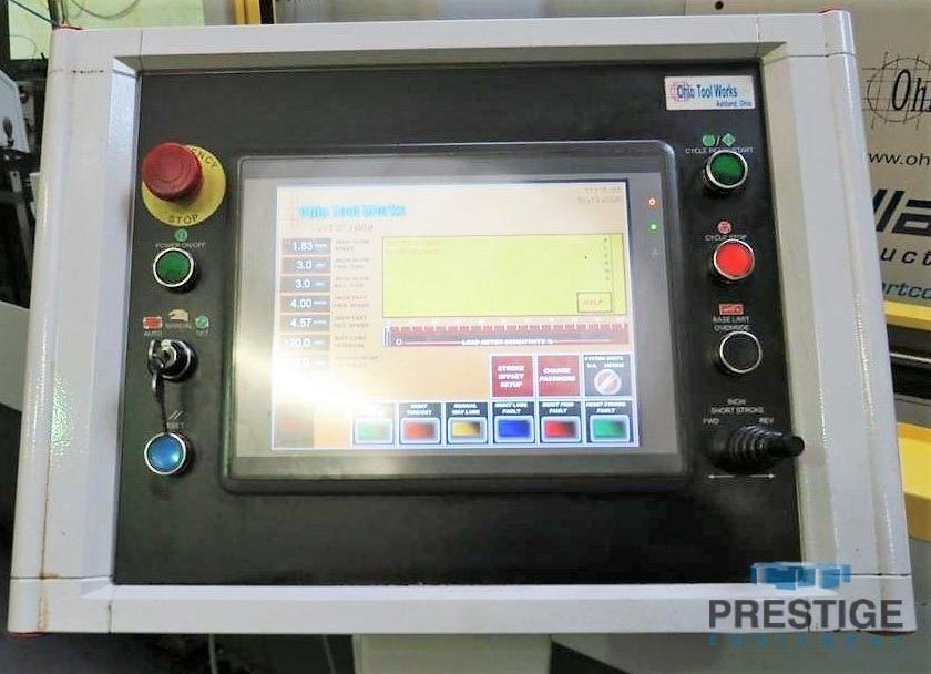 Máquina de bruñido horizontal