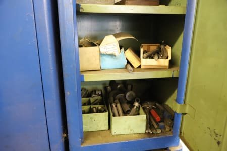Lot of Workshop Cabinets with Content